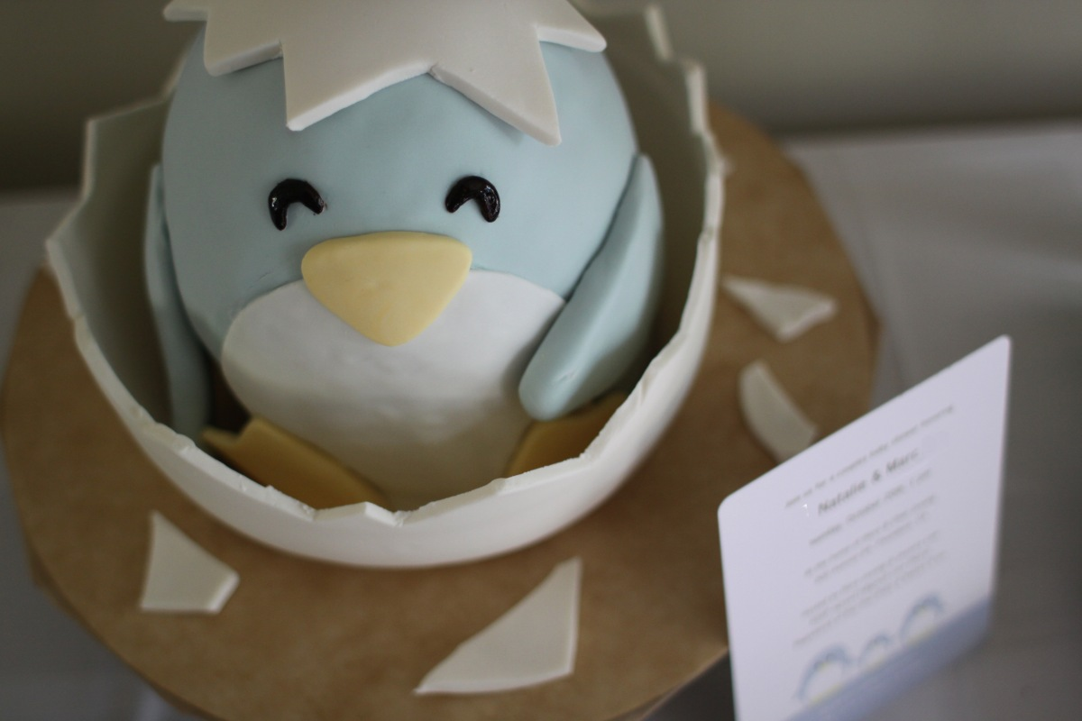 penguin baby cake specialty cakes by jill